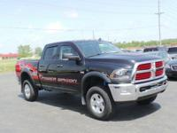 Ram 2500 Power Wagon, 6.4L V8, and 4WD. Hold on to your
