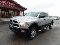 Options:  2015 Ram 2500 Designed Exclusively For The