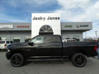 CARFAX One-Owner. Black 2015 Ram 2500 SLT 4WD 6-Speed