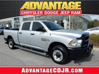 This Bright Silver 2015 Ram 2500 is a BEAUTY!! Stop in
