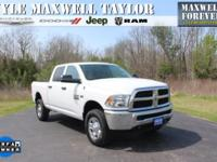 2015 RAM 2500 TRADESMAN CREW CAB IN BRIGHT WHITE
