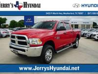 This 2015 Ram 2500 Tradesman Crew 4X4 is offered to you