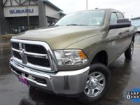 Options:  2015 Ram 2500 Tradesman|Brown|3.73 Rear Axle