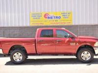 2015 Ram 2500 Tradesman  in Deep Cherry Red Crystal