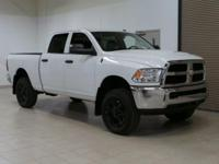 White 2015 Ram 2500 Tradesman 4WD 6-Speed Automatic