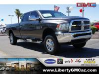 Crew Cab! 4 Wheel Drive! This handsome 2015 Ram 2500 is