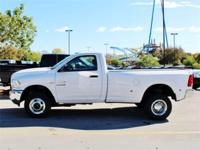 Purchase this NEW heavy duty bright white 2015 Ram 3500