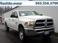 2015 Ram 3500 HEMI 5.7L V8 VVT Bright White Clearcoat