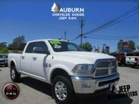 LOW MILEAGE AND 4WD! This Ram 3500 Crew Cab Laramie is