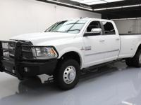 2015 Dodge Ram 3500 with 6.7L Turbocharged Diesel I6 FI