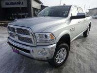 Options:  2015 Ram 3500 Laramie|Silver|*One