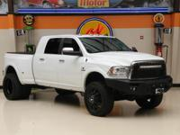 This 2015 Ram 3500 Longhorn is in great shape with only