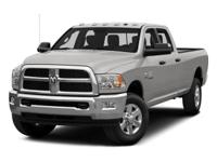 Check out this impressive 2015 Ram 3500 SLT. Wireless