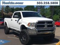 WOW!!! Check out this. 2015 Ram 3500 SLT Bright White