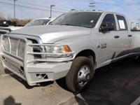 Silver 2015 Ram 3500 Tradesman with a Cummins 6.7L I6