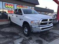 MP3 PLAYER. 3500 Tradesman, HEMI 5.7L V8 VVT, Diesel