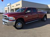 This 2015 RAM 3500 Tradesman Crew 4x4 Dually is a