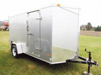 New 2015 RC 6 x 12 Trailer. Radial Tires. (4) 5,000