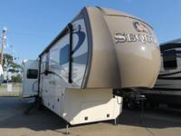 2015 SEQOUIA BY REDWOOD 38SLE 6 PT AUTO LEVEL REAR