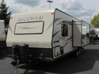 2015 Forest River Rockwood 2605S. New 26 Travel