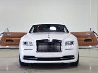 Extremely clean, LOW Mileage, 1 OWNER this Wraith is an
