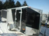 2015 ROYAL CARGO 6X12 RWT PLUS 18'v-nose, 3000# spring