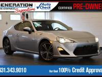 New Price! Steel 2015 Scion FR-S RWD 6-Speed Automatic