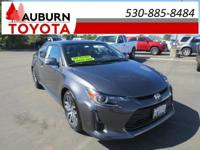 1 OWNER, PANORAMA ROOF, BLUETOOTH!  This 2015 Scion tC