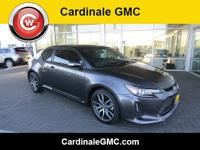 CARFAX One-Owner. Clean CARFAX. Gray 2015 Scion tC FWD