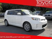 Options:  2015 Scion Xb|Super White/|V4 2.4 L