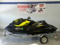 A 2012 Sea-Doo RXP 260 Personal Watercraft with under