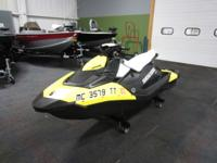 2015 SEA-DOO SPARK 3 H.O. iBR WITH ONLY 29 ENGINE