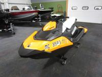 SUPER CLEAN 2015 SEA-DOO SPARK 3UP H.O. CONV iBR WITH