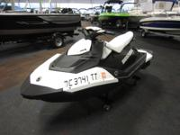CLEAN 2015 SEA-DOO SPARK 3 H.O. iBR WITH ONLY 53 ENGINE