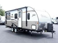 2015 Shasta Oasis 21CK Comfort and versatility come