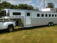 SB III 6 horse slant load with dressing room. All