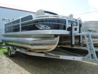 Silver Wave Pontoon Boats proudly presents the Island