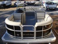 2015 South Bay 422 CR Tritoon PP Black w/Flagstone Ray