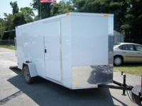 2015 South Cargo Enclosed Trailer; V Nose, 3.5k axle,