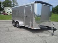 2015 Stealth 7x14 enclosed trailer with ramp door, 16""