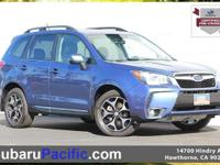 Certified, Sunroof/Moonroof, Forester 2.0XT Touring,