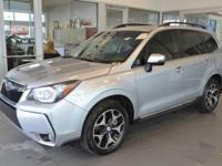 Subaru Forester 2015 2.0XT Touring Silver CARFAX