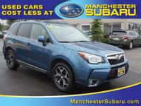 Step into the 2015 Subaru Forester! With a commanding