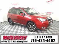 Lowest mileage Subaru Forester in 750 miles! Offering a