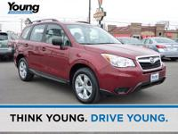 2015 Subaru Forester 2.5i This vehicle is nicely