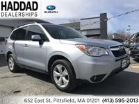 Subaru Forester 2.5i Limited 2015 Silver CARFAX