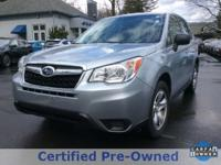*Subaru Certified*, *ONE OWNER*, *Clean Carfax Vehicle