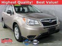 New Price! 2015 Subaru Forester 2.5i Burnished Bronze