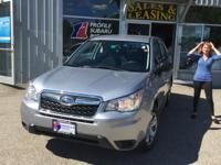 Outstanding design defines the 2015 Subaru Forester! It