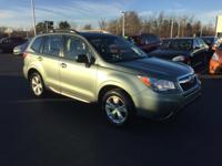 Step into the 2015 Subaru Forester! Ensuring composure
